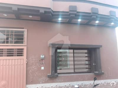 Single Storey House Available For Sale In Rail View Society Gulzar-e-quid Rwp