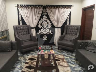 8 Marla Furnished Full House For Rent In Usman Block Sector B Bahria Town Lahore