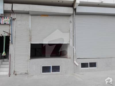 ground shop available for sale in DHA Phase 6 Rahat commercial area
