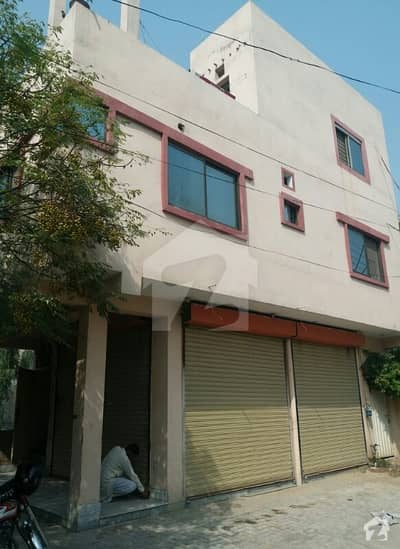 3 Marla Building For Sale With 2 Apartments Two Shops  Fully Basement