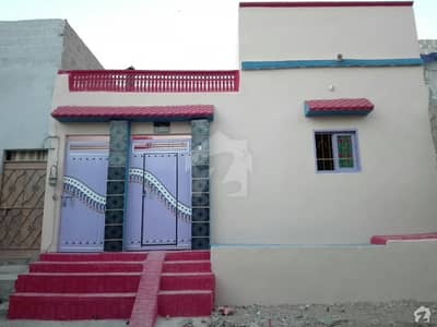 Brand New Single Storey House Is Available For Sale In Khuda Ki Basti