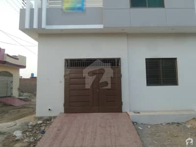 Double Storey Brand New Beautiful Corner House For Sale At Al Rehman Town, Okara
