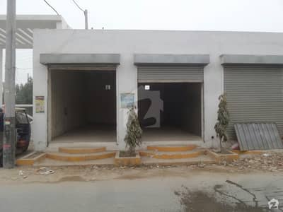 Single Storey Beautiful Commercial Building For Sale At Oasis Village, Okara