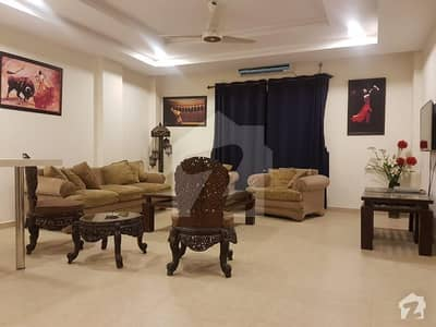 Brand New Fully Furnished Apartment In Bahria Town Available For Rent