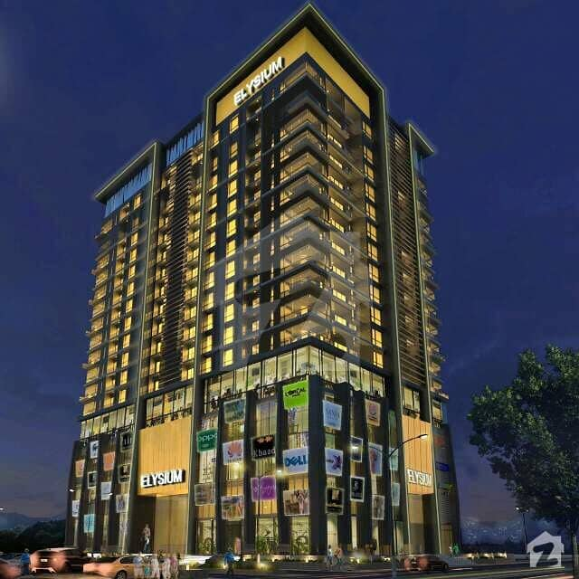 One Bedroom Apartment For Sale In Elysium Tower F8 Blue Area Islamabad