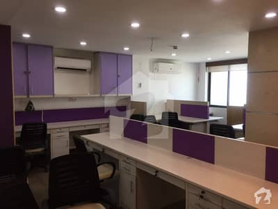 2000 Sqft Furnished Office On Rent In Clifton Executive Project