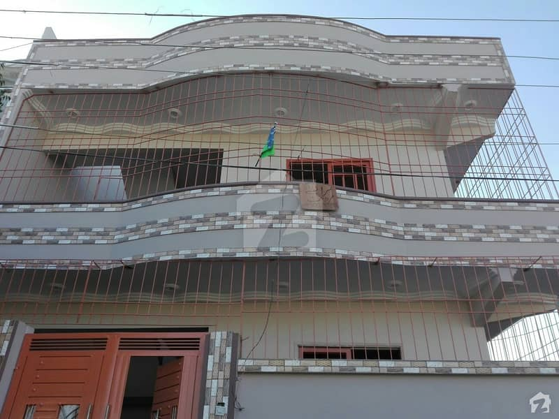 Corner Ground Plus 1 Floor House Is Available For Sale