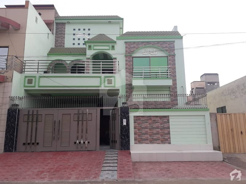 Double Storey Fully Furnished House For Sale 60 Feet Main Road Green Belt Facing