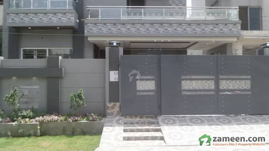 10 Marla Brand New Superb Bungalow For Sale In Wapda Town