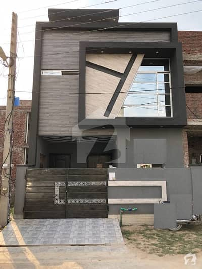 Double Storey Brand New House Facing Park For Sale Lahore