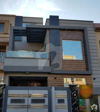 5 Marla Brand New Stylish House In Bahria Town Lahore Ideal Location For 2 Family