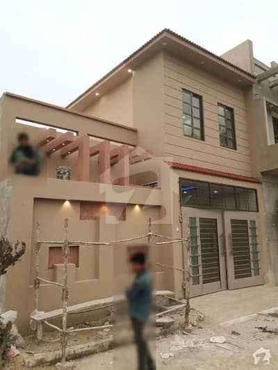 5 Marla Brand New Single Storey House Is Available For Sale - Facing Park