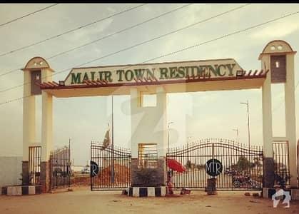 Malir Town Residency Phase 1 West Open Corner Park Facing Plot