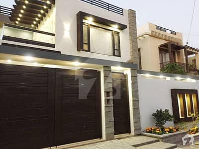 Brand New Bungalow For Sale In Darussalam Housing Society Korangi