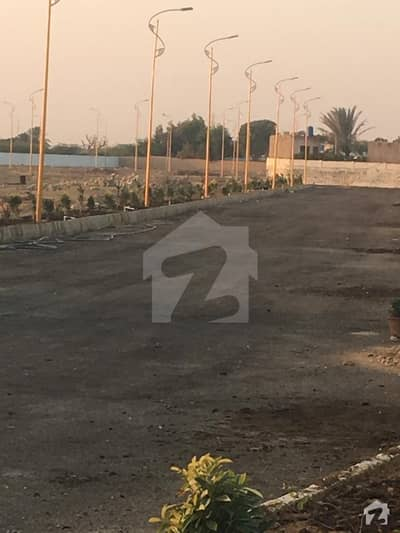 plot for sale vip location malir town phase 2 opposite KN academy