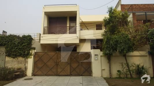 Commercial Double Unit House With Small Basement For For Sale In Lahore Sale