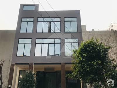 4 Marla Commercial Building For Sale