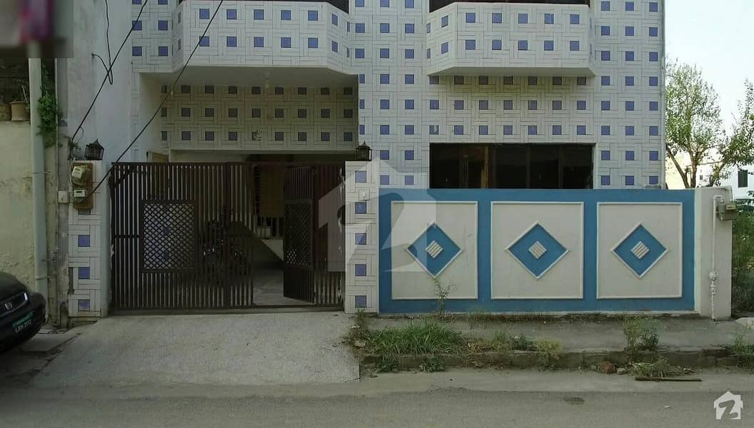 Double Storey 2 Unit Corner House For Sale In I-10 Islamabad