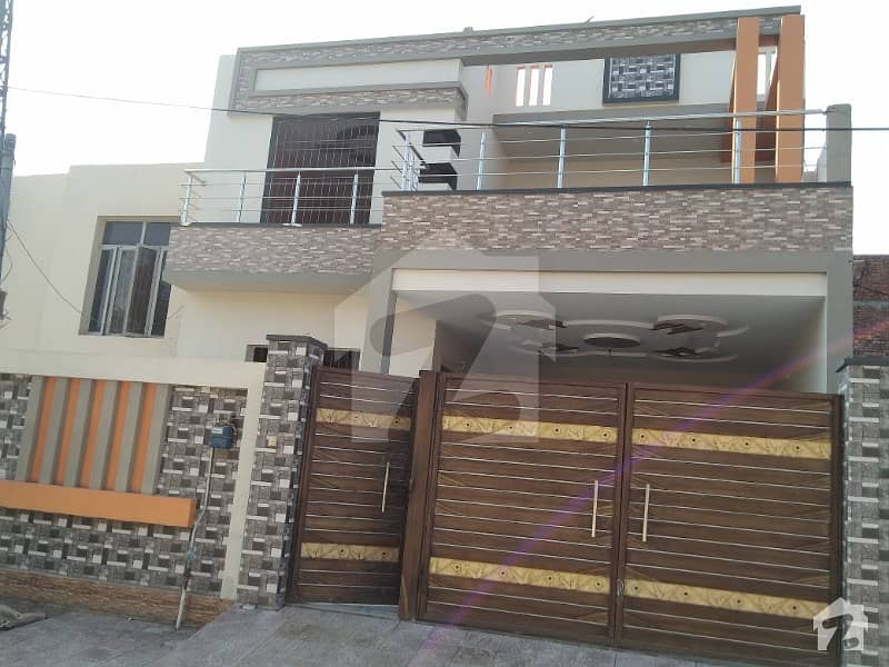 9 Marla Brand New Double Storey House For Sale At Very Full Gated Colony
