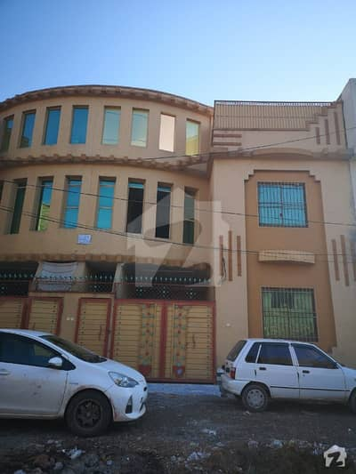 6 rooms With Attached Bath Including Drawing Room 2 Kitchens 1on Ground Floor And Other On First Floor