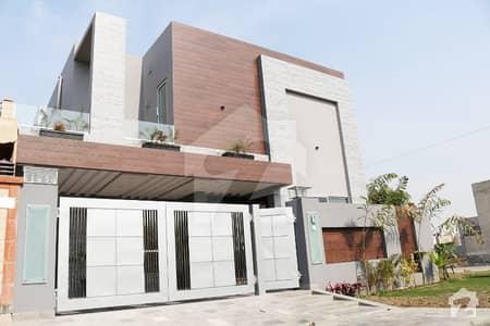 Corner Location 10 Marla Facing Park Luxury House For Sale