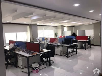 4000 Sq Ft Fully Furnished Office On Rent In Clifton - Block 5