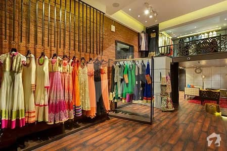 Shop Rented On 195000/- With Well Known Brand 10 Years Agreement