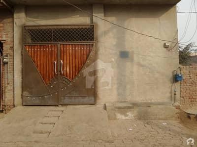 Single Storey Beautiful House For Sale at Khan Colony Road Okara