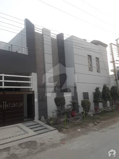 7 marla corner double unit brand new house for sale in Punjab small industries colony