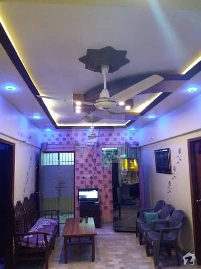 3 Bed D/D Apartment In Javed Arcade Sb 3 Block 17 Gulistan-e-Jauhar For Sale