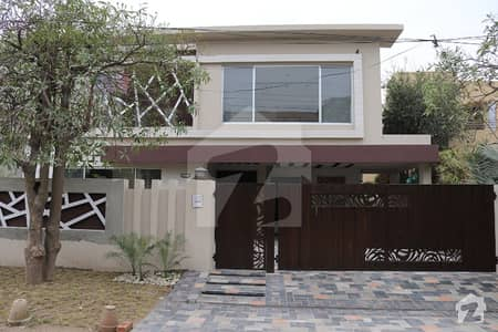 Near Phase 5 Spectacular 1 Kanal Modern Design Bungalow For Sale