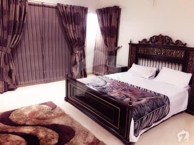 Hot Offer For Bachelor 1 BED ROOM Fully Furnished  In State Life