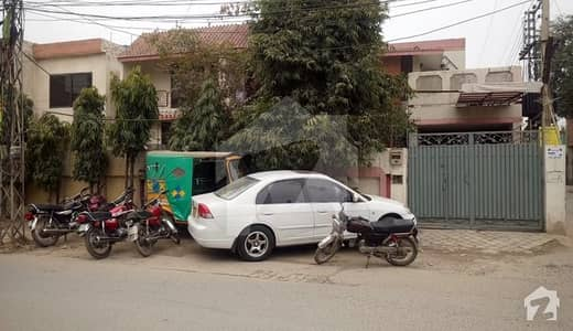 10 Marla Semi Commercial Corner House For Sale At Good Location