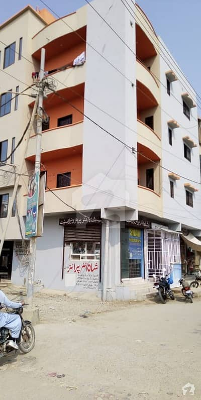 کورنگی کراچی میں 2 کمروں کا 4 مرلہ بالائی پورشن 35 لاکھ میں برائے فروخت۔
