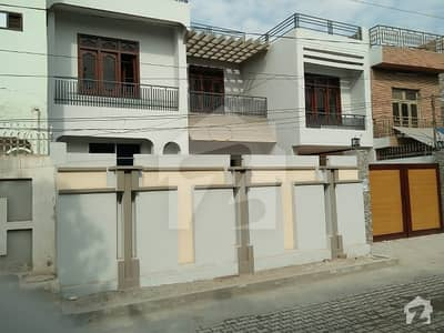 10 marla double storey excellent location and excellent house totally new