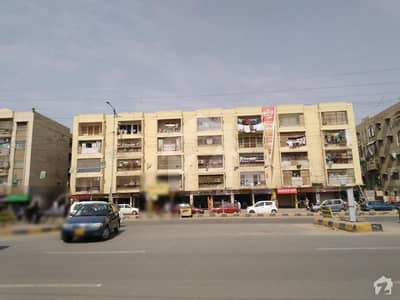 Flat Is Available For In Decent Plaza On University Road