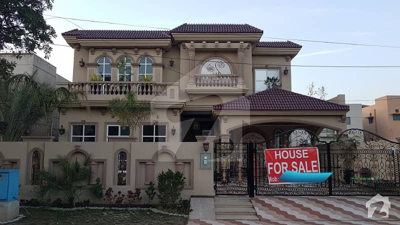 1 kanal faceing park brand new house for sale in DHA phase 8