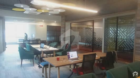 Serviced Private Office With Common Cafe And Meeting Rooms