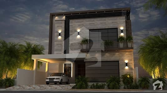 8 Marla Brand New House For Sale In DHA Rahbar