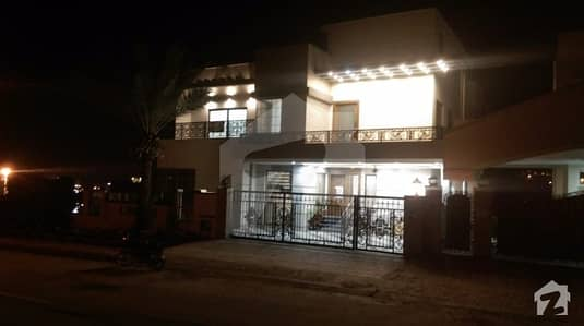 Bahria town intellectual village 24 marla house tripple story 8 bed with attach bath outstanding location near to masjid commercial area