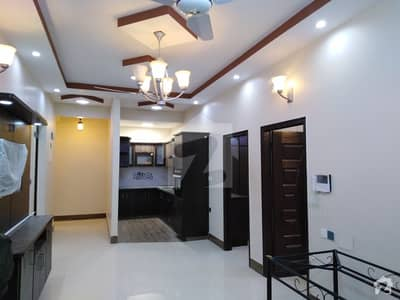 Zamzam Residency Brand New 3 Bed D/D Flat For Sale Vip Block 4