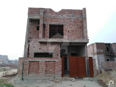 Double Storey Corner Structure House Is Available For Sale