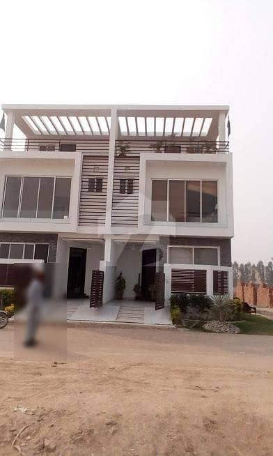3 Marla Brand New House on installment Al Kabir Town Phase 2