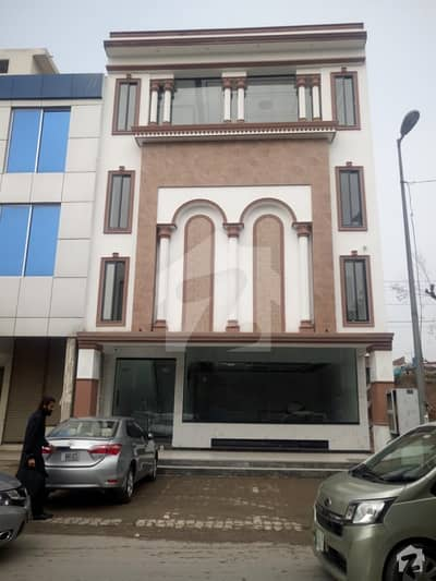 4 Marla Brand New Plaza 25 F Is Available For Sale