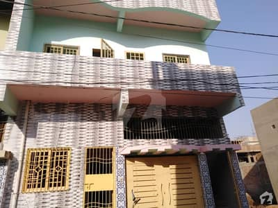 300 Yard Double Storey Bungalow For Sale At Citizan Colony Main Road