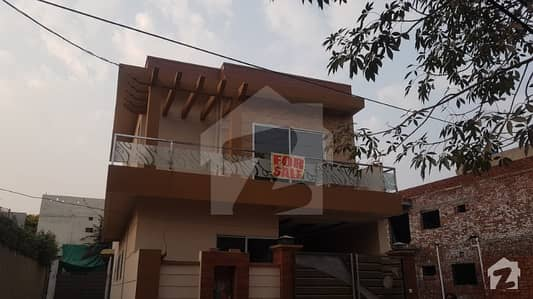 7 marla double unit brand new house for sale in Ali Park airport road