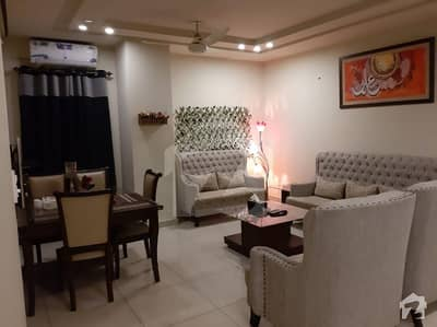 Fully Furnished 2 Bed Apartment For Sale In Bahria Town Phase 3
