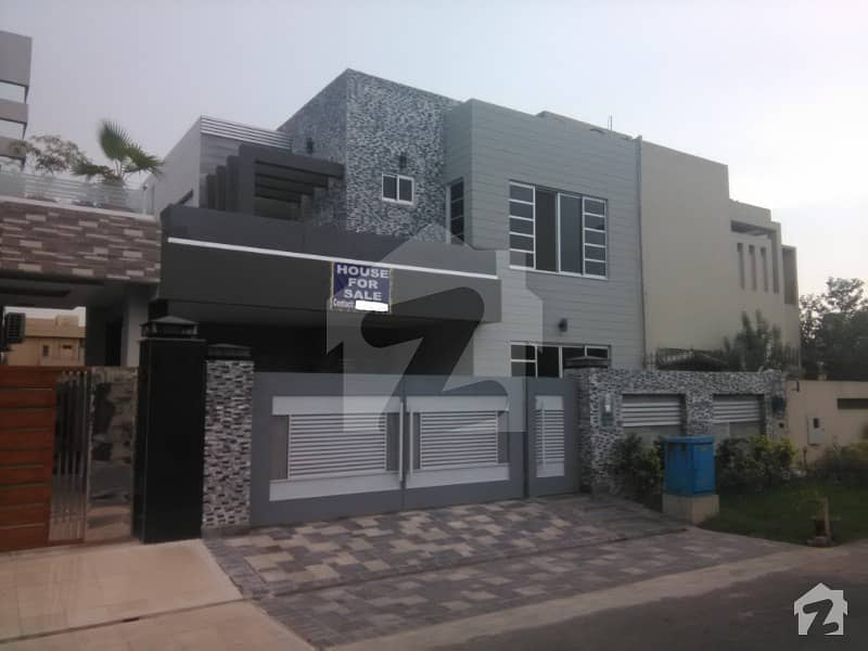 10 Marla Brand New With Basement Bungalow For Sale Near To Mosque And Park