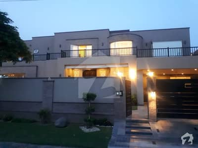 All Picture Real Attached 2 kanal house brand new Sui gas society for sale Spanish Design with swimming poll GYM theater