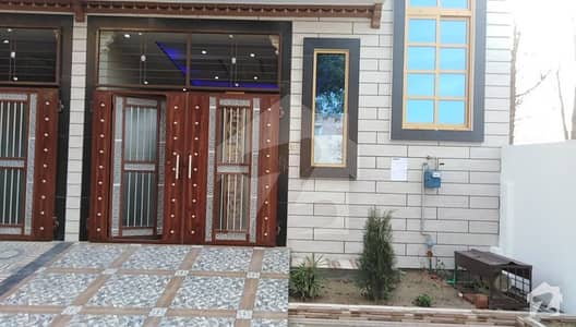 A Nice 4 Marla House Built With Strong Material Is Available For Sale